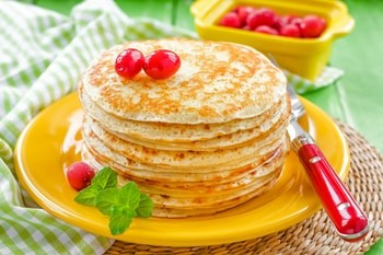 Russian Bliny (Pancakes)