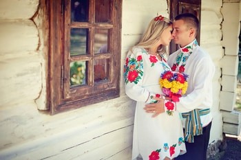 Traditional Ukrainian dress