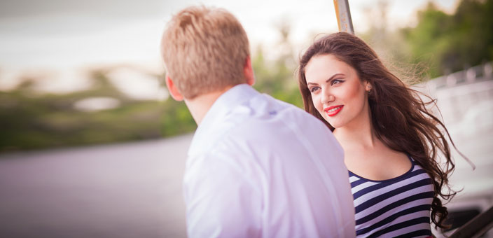 Partnerschaft und glückliche Beziehungen